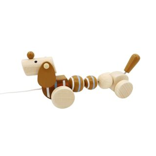 CALM & BREEZY PULL ALONG SAUSAGE DOG