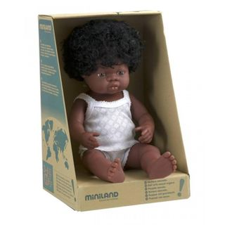MINILAND 38CM BABY GIRL AFRICAN