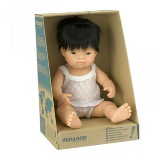 MINILAND 38CM BABY BOY ASIAN