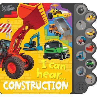 10 BUTTON SOUND I CAN HEAR CONSTRUCTION