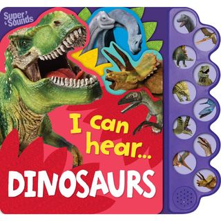 10 BUTTON SOUND I CAN HEAR DINOSAURS