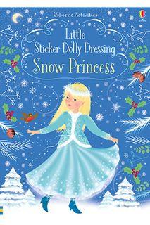 LITTLE STICKER DOLLY DRESSING SNOW PRINC