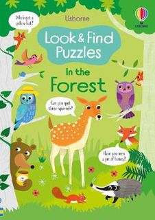 LOOK & FIND IN THE FOREST