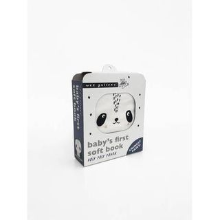 WEE GALLERY CLOTH BOOK ROLY POLY PANDA