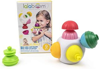 LALABOOM MINI CUBE & 8 BEADS