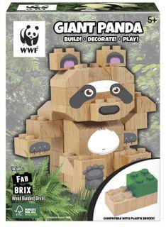 FAB BRIX WWF GIANT PANDA