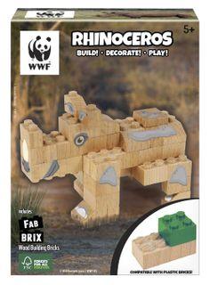 FAB BRIX WWF RHINOCEROS