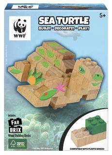 FAB BRIX WWF SEA TURTLE