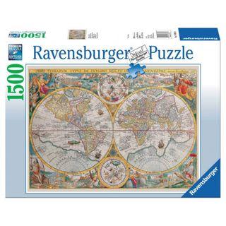 HISTORICAL MAP PUZZLE 1500 PCES