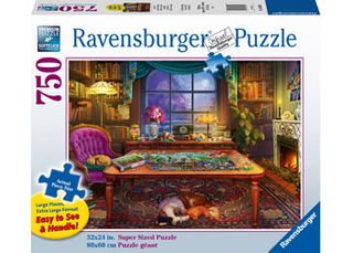 LARGE FORMAT PUZZLERS PLACE 750 PCE