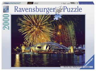 FIREWORKS OVER SYDNEY PUZZLE 2000 PCE