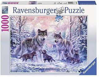 ARCTIC WOLVES PUZZLE 1000 PCE