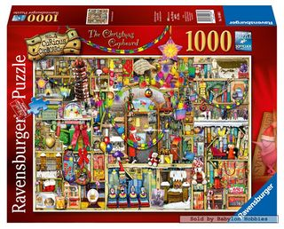 CHRISTMAS CUPBOARD THOMPSON PUZZ 1000 PC