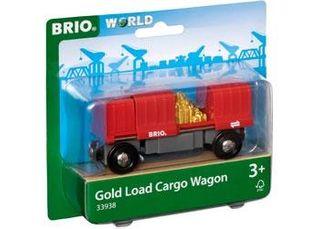 BRIO GOLD LOAD CARGO WAGON 2PCE 33938