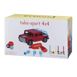 TAKE APART 4 X 4 RED