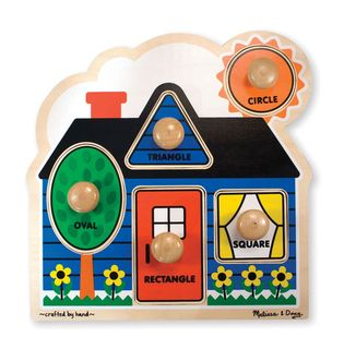 JUMBO KNOB PUZZLE FIRST SHAPES