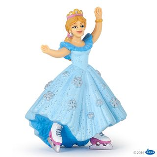 PRINCESS WITH ICE SKATES