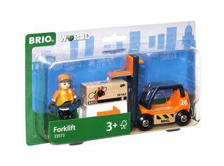 BRIO FORKLIFT 4 PCES 33573