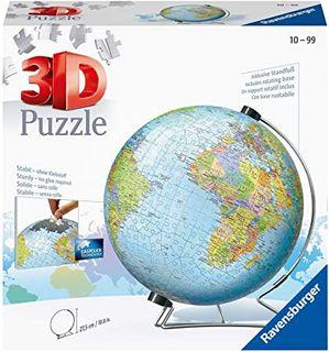WORLD GLOBE 3D PUZZLEBALL 540 PCES