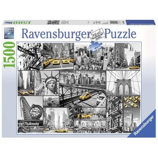 NEW YORK CABS PUZZLE 1500 PCE