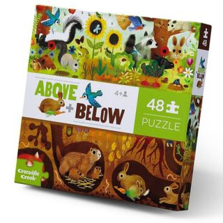 ABOVE & BELOW PUZZ 48 PCE BACKYARD