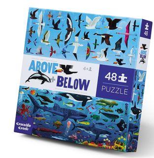ABOVE & BELOW PUZZ 48 PCE SEA & SKY