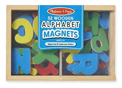 MAGNETS IN A BOX ALPHABET