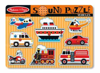 SOUND PUZZLE VEHICLES