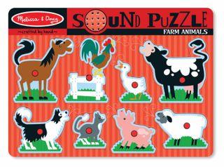 SOUND PUZZLE FARM ANIMALS