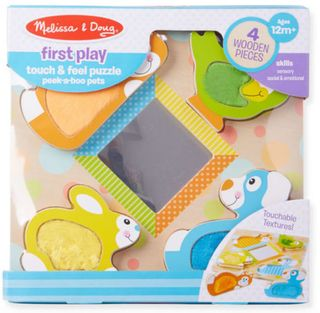 FIRST PLAY TOUCH & FEEL PUZZLE PETS