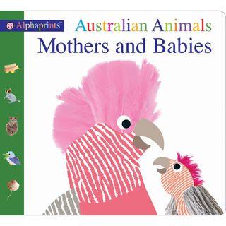 ALPHAPRINTS AUSTRALIA ANIMAL MOTHER BABY