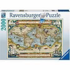 AROUND THE WORLD PUZZ 2000 PCS