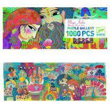 GALLERY PUZZLE MAGIC INDIA 1000 PCES