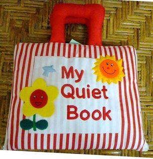 MY QUIET BOOK RED STRIPE