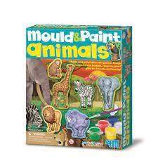 MOULD & PAINT WILDLIFE ANIMALS