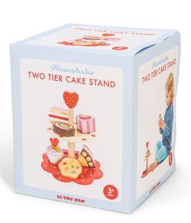 HONEYBAKE 2 TIER CAKE STAND