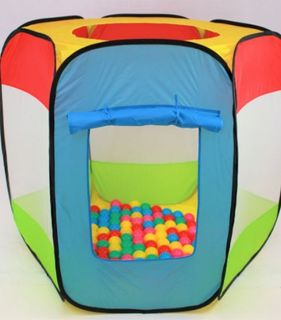 TENT TOP UP HEXAGON WITH BALLS