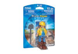 PLAYMOBIL CONSTRUCTION WORKER 70560