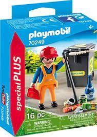 PLAYMOBIL STREET CLEANER 70249
