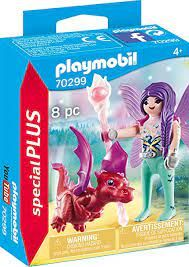 PLAYMOBIL FAIRY WITH BABY DRAGON 70299
