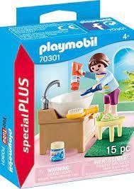 PLAYMOBIL CHILDREN MORNING ROUTINE 70301