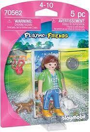 PLAYMOBIL GIRL WITH KITTEN 70562