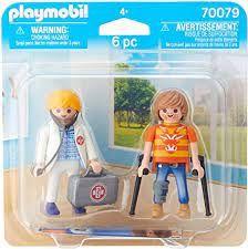 PLAYMOBIL DOCTOR & PATIENT 70079