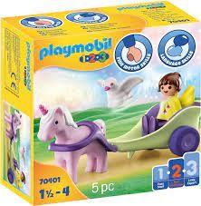 PLAYMOBIL 123 UNICORN CARRIAGE 70401