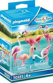 PLAYMOBIL FLOCK OF FLAMINGOS 70351