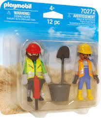 PLAYMOBIL CONSTRUCT WORKERS TWIN 70272