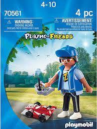 PLAYMOBIL BOY WITH RC CAR 70561
