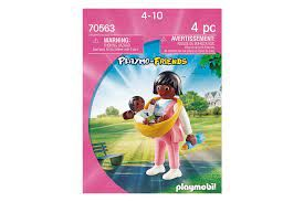 PLAYMOBIL MOTHER WITH BABY CARRIER 70563