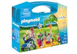 PLAYMOBIL CARRY CASE FAMILY PICNIC 9103