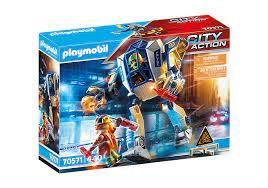 PLAYMOBIL SPECIAL OPS POLICE ROBOT 70571